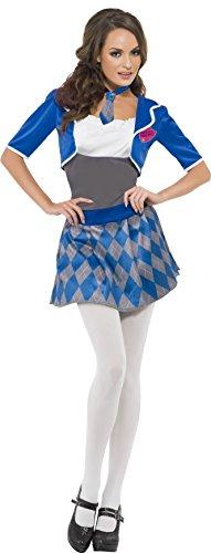 n Freches Schulmädchen Kostüm, Kleid, Bolero und Krawatte, Größe: L, 26218 ()