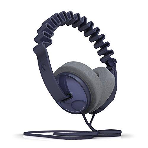 InnoDevice WV100090 InnoWave Plus Over Ear Designer Kopfhörer blau