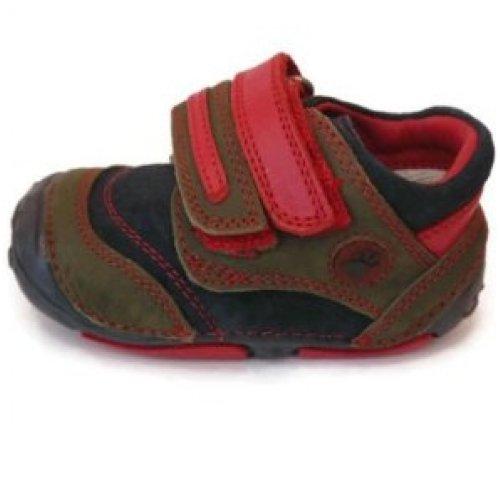 hush-puppies-ex-display-baa-zapatos-primeros-pasos-de-piel-para-nino-azul-azul-color-azul-talla-35-e