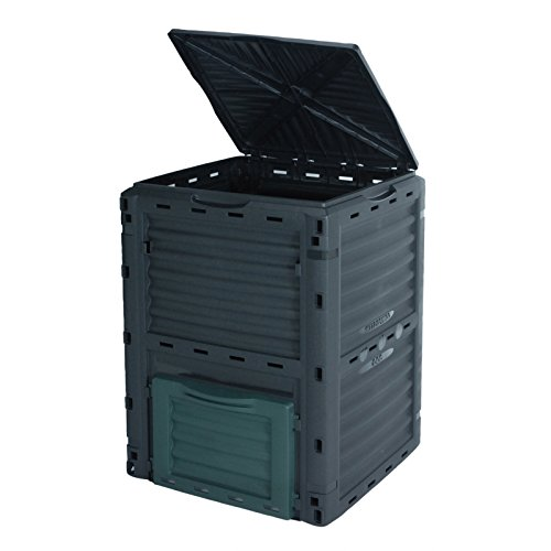 What greatly appeals about this 300 Litre compost bin is the ease of assembly; it's simple and quick. The large capacity of the bin is also something to boast about. We recommend the 300-Litre Garden Eco Composter for use in homes with heavy garden waste and for people who are so keen on assembly.
