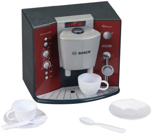Theo Klein 9569 - BOSCH Kaffeemaschine mit Sound, Spielzeug