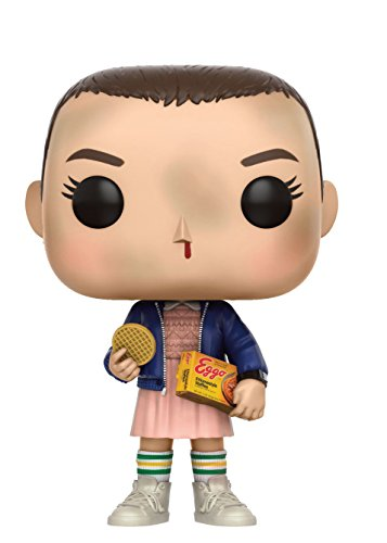 Close Up Figura de Vinilo Pop! Television Stranger Things - Eleven with Eggos [Millie Bobby Brown] (0cm x 9cm)