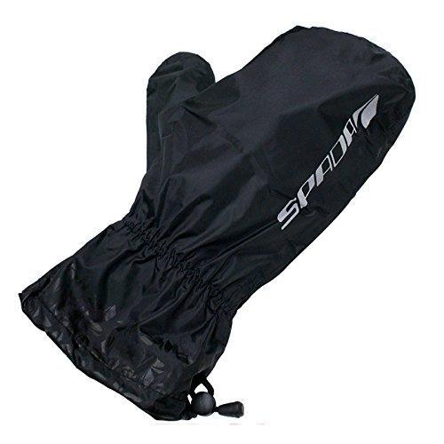Spada Overmitts WP Motorrad-Überhandschuhe Regenhandschuhe - Schwarz - M