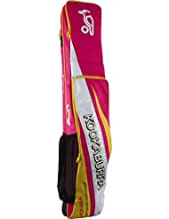 Kookaburra Viper–Bolsa 3bolsillos grandes Kit bolsa de almacenamiento Stick de Hockey Indoor, color rosa, tamaño talla única