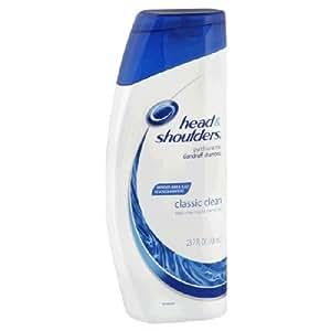 Head & Shoulders - Shampooing antipelliculaire Classic Clean - Améliore la santé des cheveux et du cuir chevelu - 700 ml (Lot de 6)