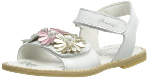 Primigi IANNA, Scarpe con cinturino alla caviglia bambina, Bianco, 20 (3.5 UK)