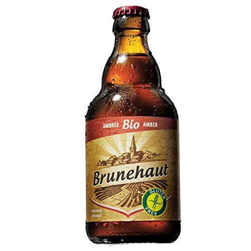 Brunehaut Biere Sans Gluten Amber 0,33