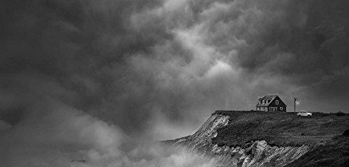 "Stampa artistica / Poster: David Senechal Photographie (polydactyle) ""The last house near the end of the world"" - stampa di alta qualità, immagini, poster artistici, 95x45 cm"