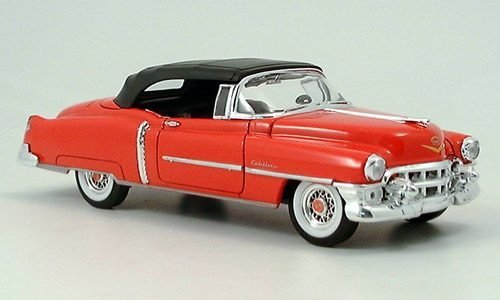cadillac-eldorado-convertibles-avec-softtop-rouge-voiture-miniature-miniature-deja-montee-welly-124