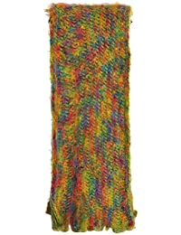 Toutacoo, Women's Multicoloured Woollen Scarf - Made in France