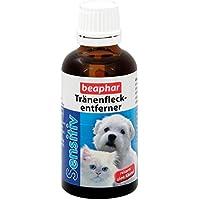 Sensitiv Tränenfleckentferner für Hunde & Katzen | Entfernt Tränenflecken | Anti Augen-Flecken | Milder & reizarmer Augenreiniger | 50 ml