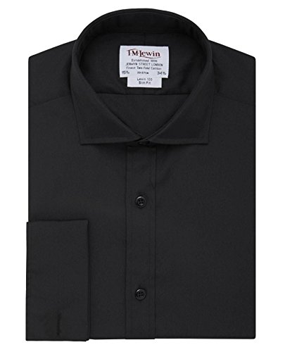 tmlewin-mens-slim-fit-black-poplin-shirt-155