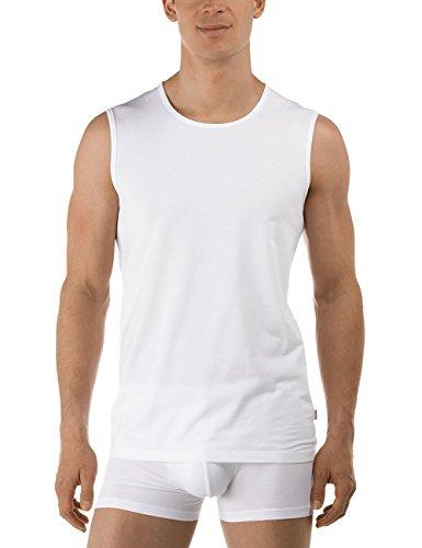Calida Herren Unterhemd City - Shirt - Activity Weiß (weiss 001)