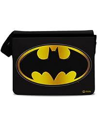 Offizielles Lizenzprodukt Batman Logo Messenger Bag, Umhängetasche