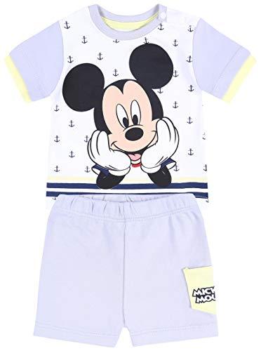 Conjunto bebé Azul Marino Mickey Mouse Disney 18 Meses