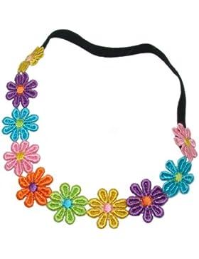 Unknown - Cinta de pelo - Floral - para niña Multicolor Multi Colour. talla única