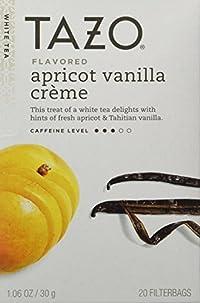 Tazo Apricot Vanilla Creme White Tea -- 20 Tea Bags