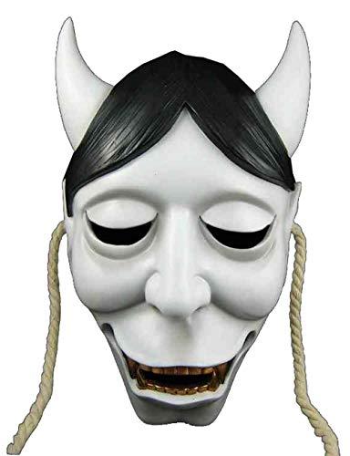 Scary Halloween Maske Japanischen Fox Ghost Kopf Maske Terror Devil Mask Dance Party