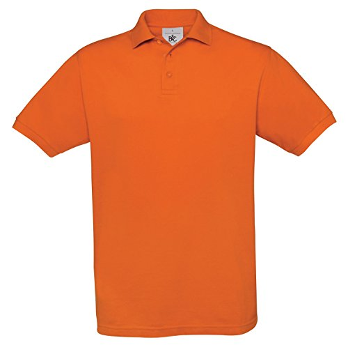 BCPU409 Polo Safran / Unisex Sunset Orange