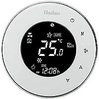 Termostato Wi-Fi per Caldaia a Gas,Termostato Caldaia Incasso Schermo LCD(VA Schermo) Touch Button Retroilluminato…