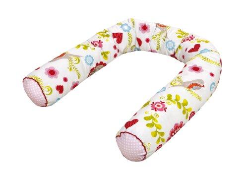 Zöllner Tour de lit en boudin avec bord passepoil