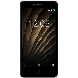 """BQ Aquaris U - Smartphone de 5"""" (Dual SIM, Bluetooth 4.2, Octa Core 1.4 GHz , 32 GB de memoria interna, 2 GB de RAM, cámara de 13 MP, Android 6.0.1 Marshmallow), color negro"""
