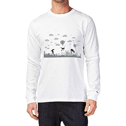 t-shirt manica lunga Parkour, allenamento, ostacoli - S M L XL XXL uomo donna bambino maglietta by tshirteria