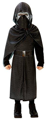 Rubie's 620261 -Star Wars Kylo Ren deluxe Kostüm, Jahre 7-8 , schwarz