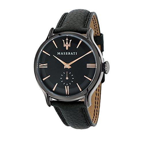 Maserati R8851118004 - Reloj de Pulsera Hombre, Color Negro
