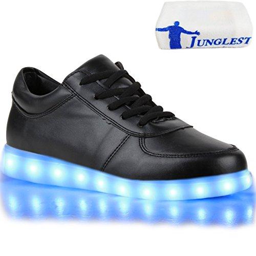 [Present:kleines Handtuch]JUNGLEST® 7 Farben LED Kinder, Jungen, Mädchen führte leuchten Trainer Sneakers Turnschuhe Sportschuh c37
