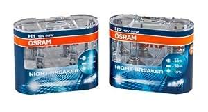 OSRAM Nightbreaker H1 + H7 Glühbirnen Spar-Set