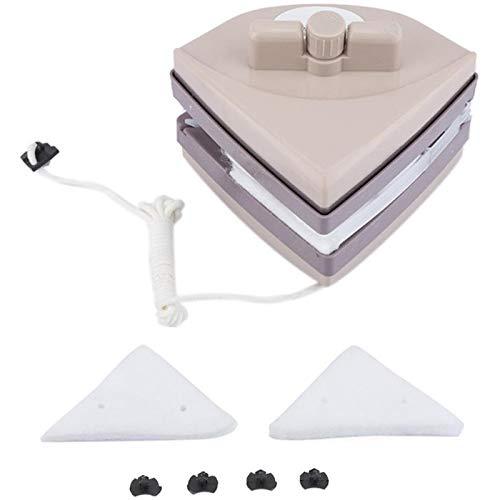 er Magnetischer Scheibenwischer Reiniger Für Doppelt Verglaste Scheiben (5-35 Mm) Magnet Scheiben Reiniger Wiper Glas Wasch Reinigungs Werkzeug Pinsel ()