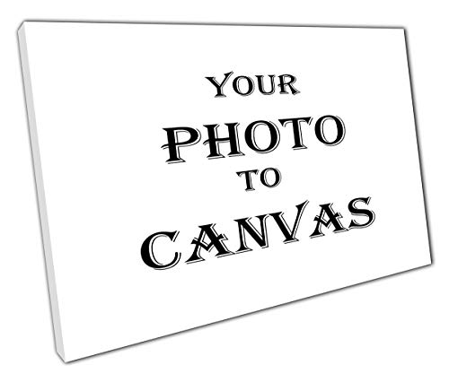"""Your PHOTO//PICTURE 18mm Frame Personalised 16/"""" x 12/"""" A3 Canvas 280gsm"""