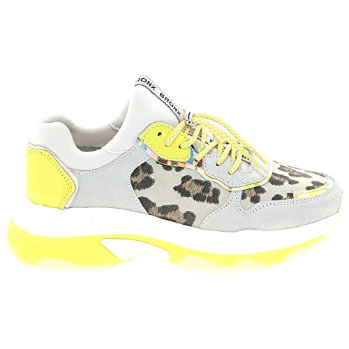 Bronx 66167-CH Damen Sneakers Mehrfarbig, EU 39