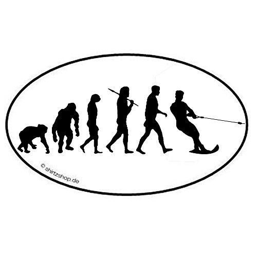 Wasserski I Evolution Aufkleber Autoaufkleber Sticker Vinylaufkleber Decal