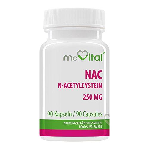 u20ac 15 99 nac nacetylcystein 250 mg antioxidant gesunde lungen atemwege 90 kapseln