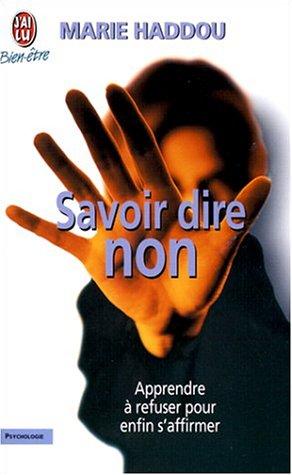 Savoir dire non par Marie Haddou