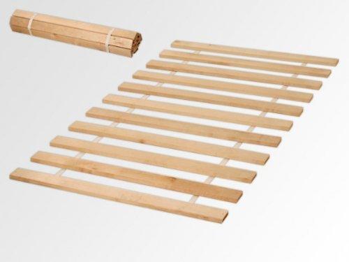 90×200 Rollrost 11 Leisten nicht verstellbar unverstellbar Rolllattenrost Fichtenholz