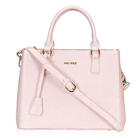 Veevan Damen Elegant Handtaschen (Hellrosa)