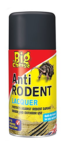 STV International The Big Cheese Aerosol Anti-roedores, Negro