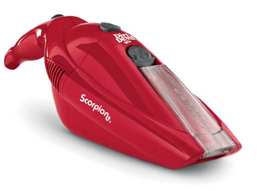Dirt Devil Scorpion Senza sacchetto Rosso aspiratore portatile