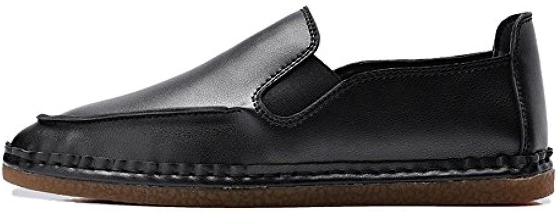El Día del Padre para Hombre Mocasín Transpirable Casual Comodidad Ancha Zapatos plantares