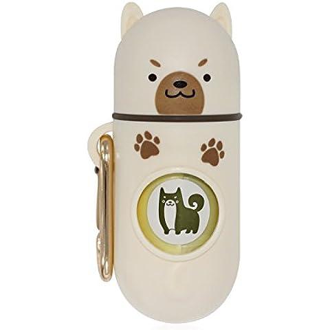 [Nature Comes] Sacchetti per gli escrementi del cane e dispenser (15 Sacchetti, biodegradabile profumato) Romeo