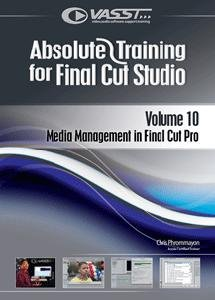 Preisvergleich Produktbild Absolute Training for Final Cut Pro / Studio,  Vol. 10 - Media Management in Final Cut Pro