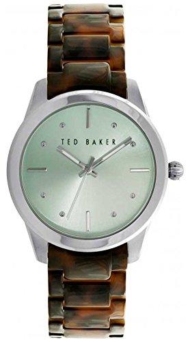 Ted Baker 10025278 - Reloj de pulsera Mujer, Resina, color Marrón
