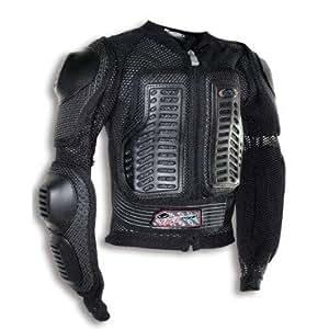 GILET PROTECTION MOTO CROSS UFO BOY OFF-ROAD ENFANT 9-10 ANS NOIR TAILLE L-990023L