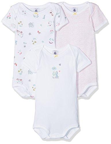 Petit Bateau, Body para Bebés (Pack de 3) Petit Bateau