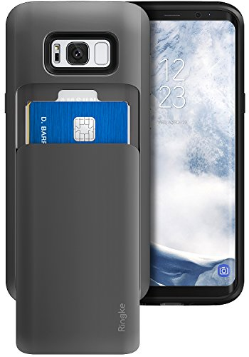 coque-samsung-galaxy-s8-ringke-access-wallet-svelte-double-detenteur-de-carte-metal-ardoise-slot-de-