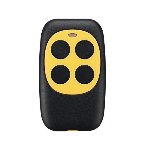 Preisvergleich Produktbild Cathy02Marshall Universal 433 MHz Fernbedienung 4 Kanal für Garagentoröffner Handsender Garagentoröffner Gelb