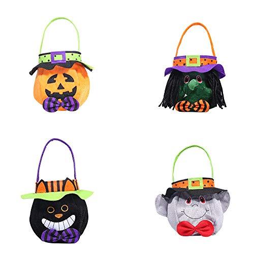 LXY Kreatives Halloween Mit Kapuze Runde Einkaufstasche Langlebig Inneneinrichtung